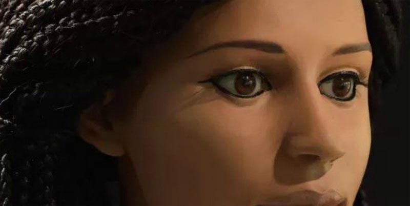 গবেষকগণ ২৩০০ বছর পুরোনো একটি মমির মুখাবয়ব পুনঃনির্মান করেছেন