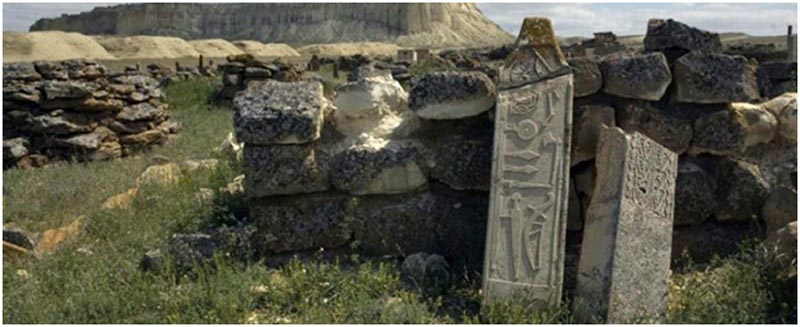 কাজাখস্তানে রহস্যময় প্রকান্ড সৃতিস্তম্ভের সন্ধান লাভ