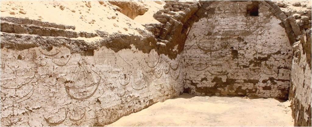 মিশরের প্রাচীন শহরে ফারাও সম্রাটের ভূগর্ভস্থ নৌকা সমাধির সন্ধান মিলেছে