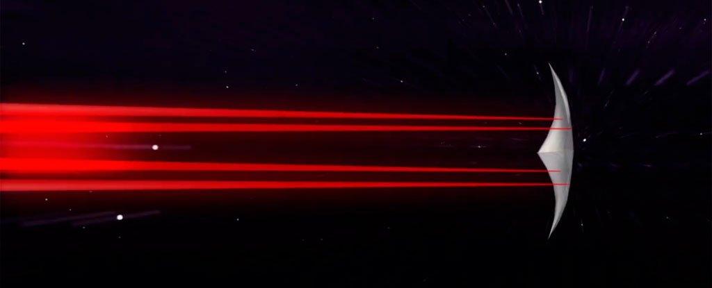 অতিক্ষূদ্র ন্যানো মহাকাশযান আনছে নাসা, চলবে আলোর একপঞ্চমাংশ গতিতে