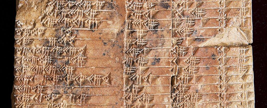 গণিতের ইতিহাস বদলে দিয়েছে ৩৭০০ বছর পুরোনো মৃৎফলক